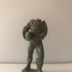 Figuras de Goma y PVC: SOLDADO DESCABEZADO TIPO PECH, JECSAN, REAMSA O COMANSI. Lote 132757786