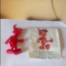Figuras de Goma y PVC: FIGURA ARTICULADA DE PLÁSTICO PINOCHO PROMOCIÓN DE DETERGENTE OMO.. Lote 132781234