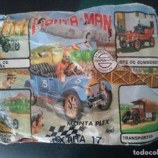 Figuras de Goma y PVC: MONTAPLEX MONTAMAN EXTRA 17. Lote 132794330