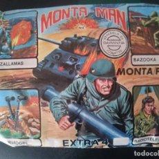 Figuras de Goma y PVC: MONTAPLEX MONTAMAN EXTRA 4 ----REFM2ARRCAZAMON. Lote 173980474