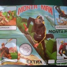 Figurines en Caoutchouc et PVC: MONTAPLEX MONTAMAN EXTRA 3. Lote 132794730