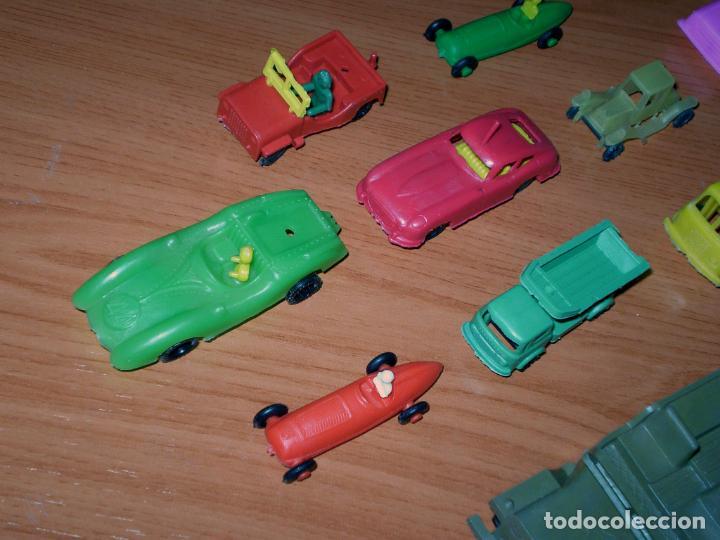 Figuras de Goma y PVC: LOTE MONTAPLEX Y VARIOS KIOSKO AÑOS 70´S - VEHÍCULOS - Foto 6 - 132826758