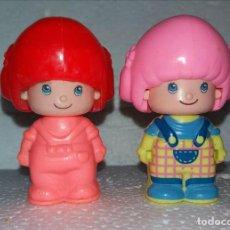 Figuras de Goma y PVC: LOTE POR 2 PIN Y PON DE LOS 80. Lote 132875634