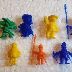 Figuras de Goma y PVC: LOTE DE FIGURAS PROMOCIONALES DARTACAN Y LOS TRES MOSQUEPERROS. Lote 132906950