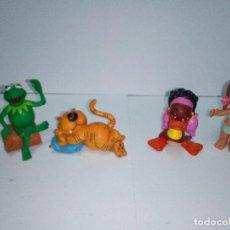 Figuras de Goma y PVC: LOTE DE 4 ANTIGUAS FIGURAS DE LOS DIBUJOS ANIMADOS - -VARIAS MARCAS. Lote 140041089