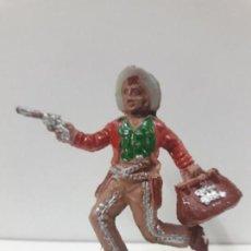 Figuras de Goma y PVC: VAQUERO - COWBOY . REALIZADO POR LAFREDO . AÑOS 50 EN GOMA. Lote 132931398