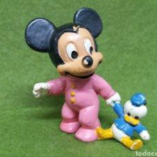 Figuras de Goma y PVC: ANTIGUA FIGURA EN PVC DE MICKEY MOUSE BABY. BULLY. WEST GERMANY. WALT DISNEY. AÑO 1985. Lote 132948870