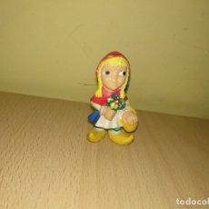 Figuras de Goma y PVC: FIGURA CAPERUCITA ROJA COMICS SPAIN AÑOS 80 PVC CUENTOS CLÁSICOS INFANTILES LOBO. Lote 132991870