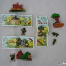 Figuras Kinder: 1 SERIE COMPLETA HUEVOS KINDER CON FIGURAS DE METAL LOTE 7. Lote 133004346