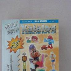 Figuras Kinder: 1 CATALOGO DE JUGUETES HUEVOS KINDER ALEMAN AÑO 2011--2012 COMO NUEVO. Lote 133004518