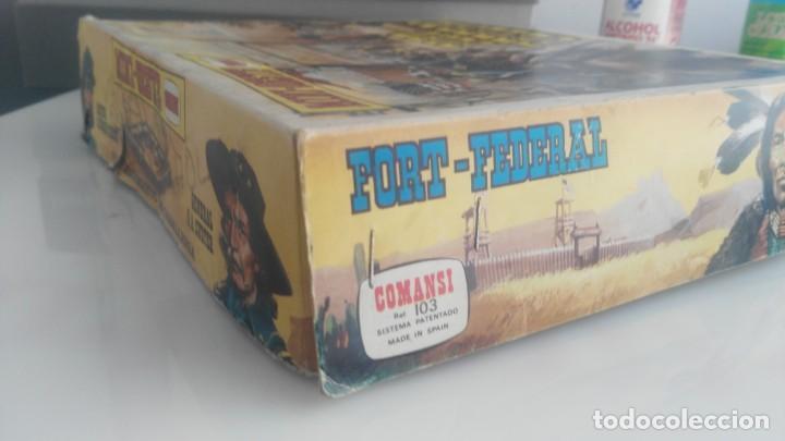 Figuras de Goma y PVC: COMANSI FORT FEDERAL MINI OESTE COMANSI - Foto 3 - 133007514