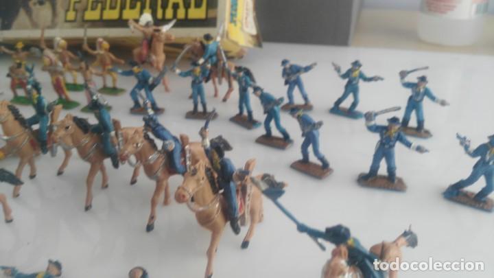 Figuras de Goma y PVC: COMANSI FORT FEDERAL MINI OESTE COMANSI - Foto 13 - 133007514