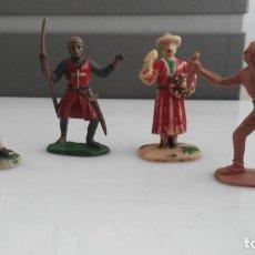 Figuras de Goma y PVC: ANTIGUAS FIGURAS LOTE JECSAN . Lote 133009402