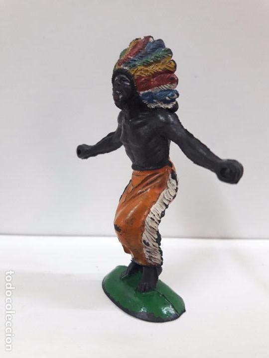 Figuras de Goma y PVC: GUERRERO AFRICANO KAKUANA . REALIZADO POR PECH . AÑOS 50 EN GOMA - Foto 3 - 133027462