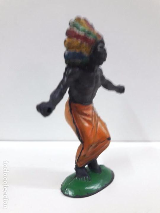 Figuras de Goma y PVC: GUERRERO AFRICANO KAKUANA . REALIZADO POR PECH . AÑOS 50 EN GOMA - Foto 4 - 133027462