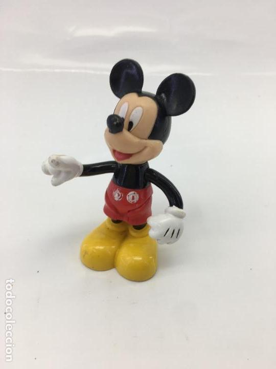 Figuras de Goma y PVC: FIGURITA ARTICULADA DE MICKEY - 7,50 CM. - DISNEY - Foto 6 - 133055062