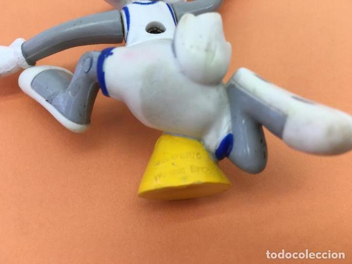 Figuras de Goma y PVC: FIGURITA ARTICULADA DE BUGS BUNNY - DE PVC O GOMA DURA - TM & WARNER BROS 1996 - Foto 7 - 133060578