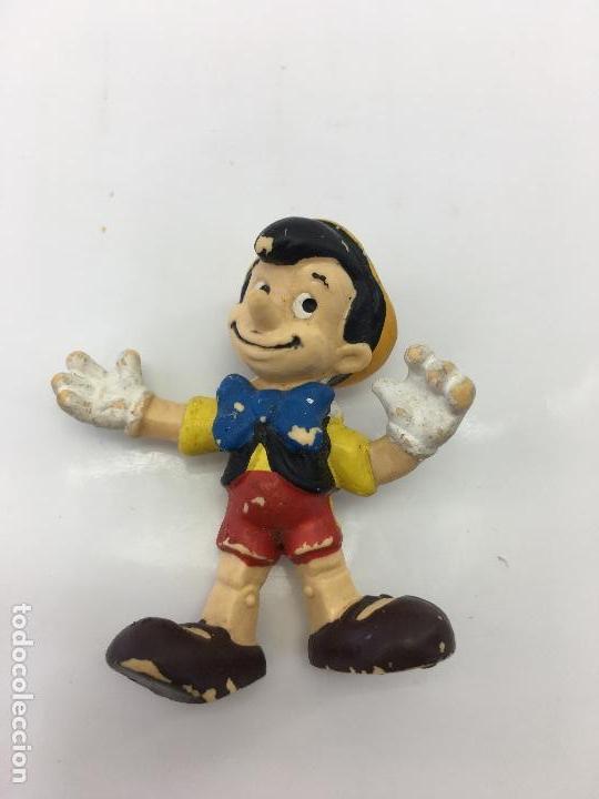 FIGURITA PINOCHO - DE PVC O GOMA DURA - BULLYLAND - MADE IN GERMANY - DISNEY (Juguetes - Figuras de Goma y Pvc - Bully)