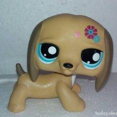 Figuras de Goma y PVC: LITTLE PET SHOP HASBRO GRANDE LPS PERRO SALCHICHA. Lote 133091454