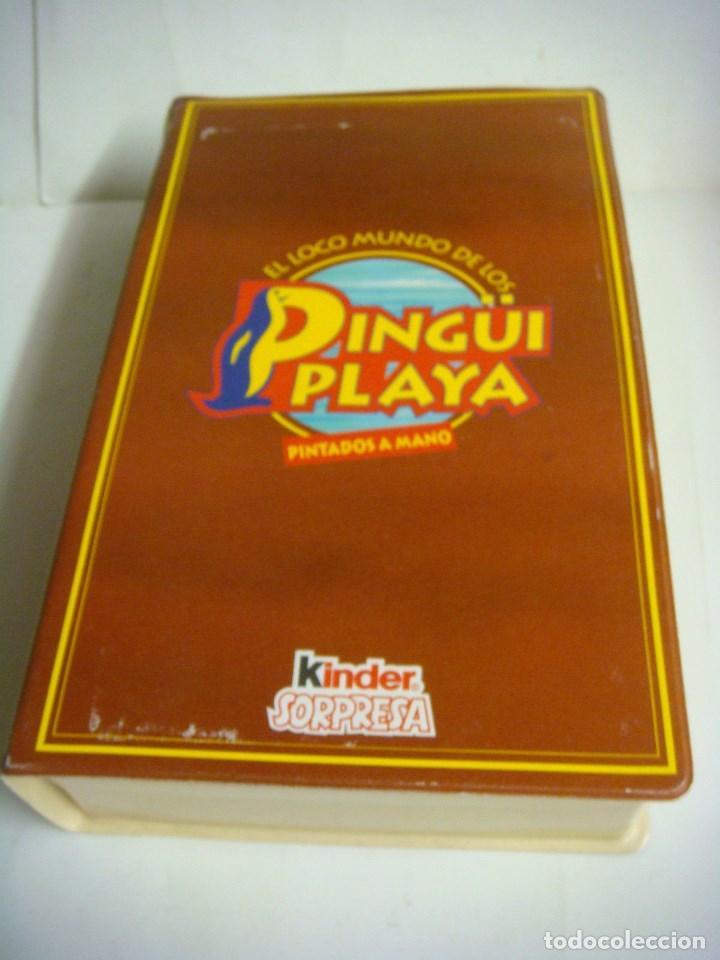 Figuras de Goma y PVC: ESTUCHE EL LOCO MUNDO DE LOS PINGUI PLAYA PINTADOS A MANO (#) - Foto 3 - 133165346