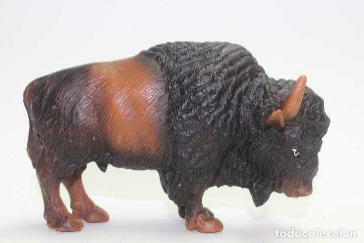 ANIMALES SCHLEICH 14034 BÚFALO O BISONTE AMERICANO (Juguetes - Figuras de Goma y Pvc - Schleich)