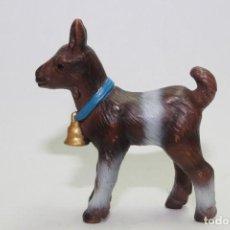 Figuras de Goma y PVC: ANIMALES SCHLEICH 14454 CABRA CABRITA CON CAMPANA - SERIE ANIMAL BABIES. Lote 133336110