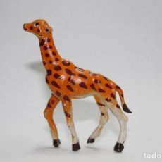 Figuras de Goma y PVC: ANIMALES PECH HERMANOS - JIRAFA PEQUEÑA CRIA. Lote 133341814