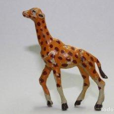 Figuras de Goma y PVC: ANIMALES PECH HERMANOS - JIRAFA PEQUEÑA CRIA. Lote 133341866