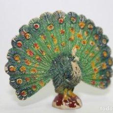 Figuras de Goma y PVC: ANIMALES PECH HERMANOS - PAVO REAL. Lote 133342058