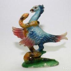 Figuras de Goma y PVC: ANIMALES PECH HERMANOS - SERPENTARIO O SECRETARIO LUCHANDO CON SERPIENTE. Lote 133342122