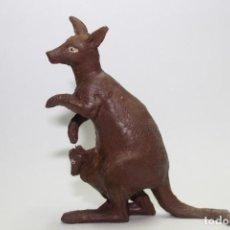 Figuras de Goma y PVC: ANIMALES TEIXIDO CANGURO. Lote 133342718