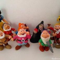 Figuras de Goma y PVC: MUÑECOS PVC BULLYLAND BLANCANIEVES Y ENANITOS VARIANTES. Lote 133368642