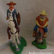 Figure di Gomma e PVC: DON QUIJOTE Y SANCHO PANZA DE COMICS SPAIN ROMAGOSA, 1987. Lote 133453874