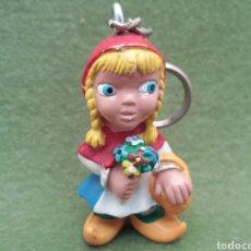 Figuras de Goma y PVC: ANTIGUA FIGURA EN PVC DE CAPERUCITA ROJA, COMICS SPAIN, AÑOS 80.. Lote 133457518
