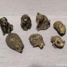 Figuras de Goma y PVC: LOTE DE FIGURAS DE ANIMALES EN LOTEDE 7 FIGURAS DE ANIMALES.. Lote 133495754