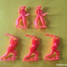 Figuras de Goma y PVC: FIGURAS OESTE REAMSA GOMARSA DE PIPERO _LEY254. Lote 133553542