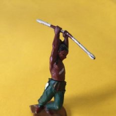 Figuras de Goma y PVC: FIGURA INDIO GAMA _LEY256. Lote 133553934