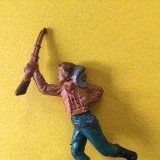 Figuras de Goma y PVC: FIGURA VAQUERO GAMA _LEY278. Lote 133556398