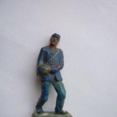 Figuras de Goma y PVC: SOLDADO ARTILLERO YANKEE GOMA. Lote 133559674
