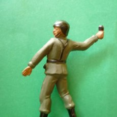 Figuras de Goma y PVC: FIGURA SOLDADO EN GOMA TEIXIDO. Lote 133560798