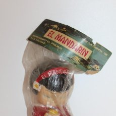 Figuras de Goma y PVC: MUÑECA CHINITA EL MANDARIN OBSEQUIO FLAN CHINO - AÑO 60. Lote 133561726
