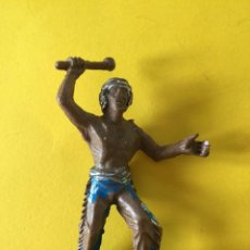 Figuras de Goma y PVC: FIGURA INDIO CON MAZO DE LAFREDO_LEY313. Lote 133562430