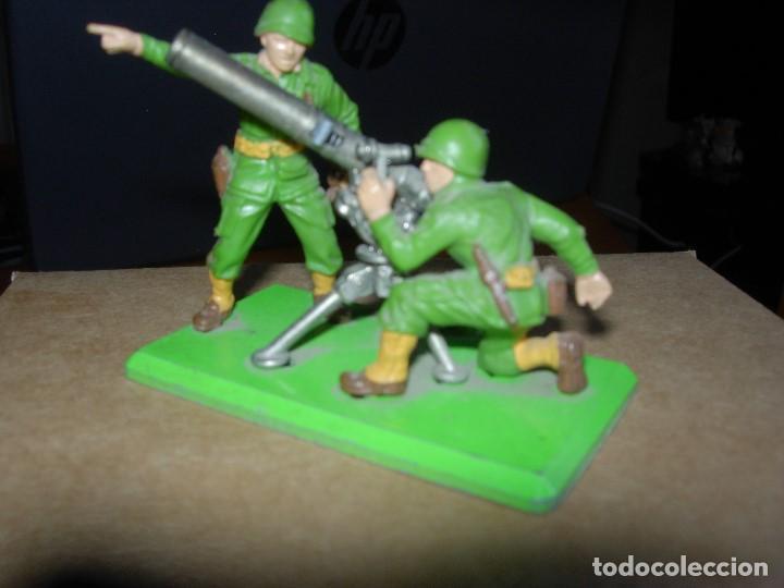 Figuras de Goma y PVC: BRITAINS DEETAIL / MORTERO AMERICANO / BRITAINS - Foto 2 - 133565938