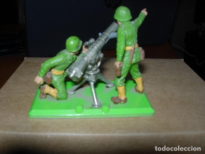 Figuras de Goma y PVC: BRITAINS DEETAIL / MORTERO AMERICANO / BRITAINS - Foto 3 - 133565938