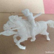 Figuras de Goma y PVC: FIGURA CABALLERO MEDIEVAL AJAX. Lote 133574186