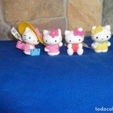 Figuras de Goma y PVC: HELLO KITTY - LOTE 4 FIGURAS HELLO KITTY 1976/2008 SANRIO BULLYLAND VER FOTOS Y DESCRIPCION! SM. Lote 133582518