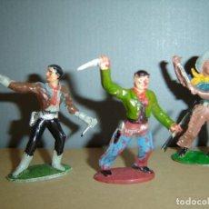 Figuras de Goma y PVC: COW-BOYS SOTORRES-GOMA. Lote 133644842
