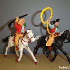 Figuras de Goma y PVC: COW-BOYS LAFREDO. Lote 133644966