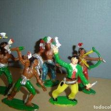 Figuras de Goma y PVC: INDIOS LAFREDO. Lote 133645098