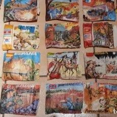 Figuras de Goma y PVC: MONTAPLEX FANTASTICO LOTE DE 19 SOBRES LLENOS MAS UNOS VACIOS TODOS MUY VIEJOS VER FOTOS. Lote 133676754